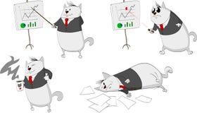 Gatos del negocio libre illustration