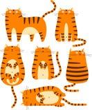 Gatos rojos Imagenes de archivo