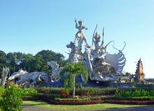 Gatotkacastandbeeld van Satria, Bali Stock Foto