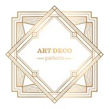 Gatsby art deco background Stock Images
