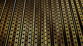 Gatsby Deco 08. 3D illustration Background for advertising and wallpaper in gatsby and art deco scene. 3D rendering in decorative concept royalty free stock images