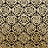 Gatsby floral Art Deco Pattern Background Design illustration stock