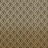 Gatsby floreale Art Deco Pattern Background Design illustrazione vettoriale