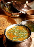 Gatte Ki Sabzi - a popular Rajasthani dish Stock Photos