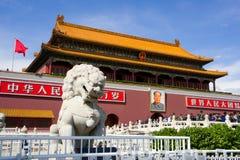 Gatter des himmlischen Friedens (Tiananmen) Lizenzfreies Stockfoto
