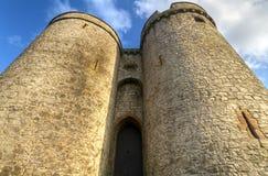 Gatter des Königs John Castle Lizenzfreie Stockfotos
