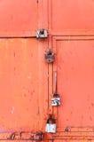 Gatter sind geschlossen Stockbilder