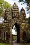 Gatter zu Angkor Thom. Angkor, Kambodscha Stockbild