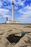 Gatteville Lighthouse Royalty Free Stock Photo