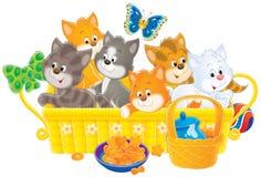 Gattini royalty illustrazione gratis