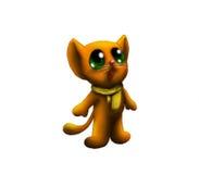 Gattino che osserva in su Immagini Stock