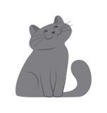 Gattino felice immagine stock