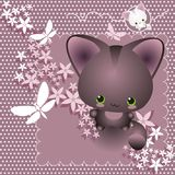 Gattino piacevole Fotografia Stock