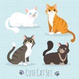 gatto così sveglio royalty illustrazione gratis