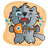 Gatto del fumetto Fotografie Stock