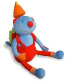 Gatto del giocattolo dei bambini Fotografie Stock