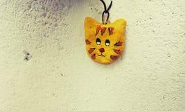 Gatto dell'argilla Fotografia Stock