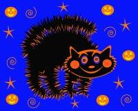 Gatto di Halloween Fotografia Stock
