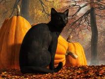 Gatto di Halloween illustrazione vettoriale