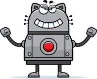 Gatto diabolico del robot Fotografia Stock