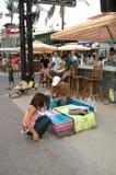 Gatuförsäljare Royaltyfri Foto
