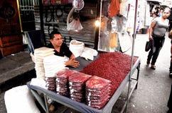 Gatuförsäljare Royaltyfria Bilder