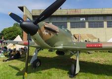 Gatuförsäljare Hurricane Mk 1 royaltyfria bilder