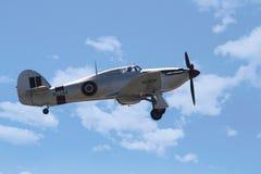 Gatuförsäljare Hurricane Mk I arkivfoto