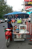 Gatuförsäljare Royaltyfri Fotografi