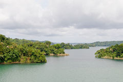 Gatun lake scenic Panama Royalty Free Stock Photos