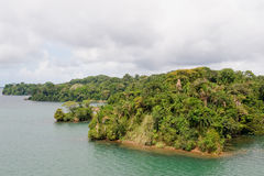 Gatun lake scenic Panama Stock Photography