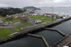 GATUN LOCKS Royalty Free Stock Photography