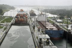 GATUN LOCKS Stock Photos