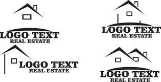 gatunku nieruchomości bezpłatnej loga wiadomości istna sloganu przestrzeń twój Zdjęcia Stock