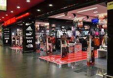 Gatunku sporta sklep odzieżowy obraz royalty free