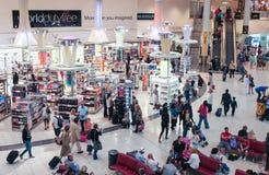 Gatwick机场免税购物 免版税图库摄影