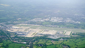 Gatwick Airport, aerial view Royalty Free Stock Photo