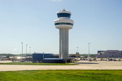 Gatwick Airport Control Tower Royalty Free Stock Photos
