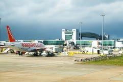 Gatwick-Flughafen stockfoto