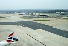Gatwick-Flughafen. Sussex. England Stockfoto