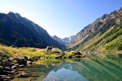 Gaube See in Pyrenäen-Berg, Frankreich stockbilder