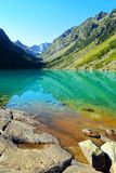 Gaube See in Pyren?en-Berg, Frankreich stockfoto