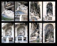 Fontaines de delle Quattro Fontane, Rome de Piazza Photographie stock libre de droits