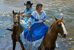 Gaucho festival Stock Image