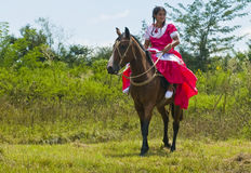 Gaucho festival Royalty Free Stock Photo