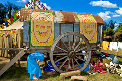 Gaucho festival stock photo