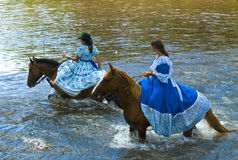 Gaucho festival Royalty Free Stock Images