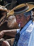 Gaucho festival. TACUAREMBO, URUGUAY - MAR 6 : Participant in the annual festival Patria Gaucha March 6, 2010 in Tacuarembo, Uruguay. It is one of the biggest Stock Photography