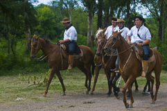 Gaucho festival Stock Photography