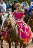 Gaucho festival. Tacuarembo, MAR. 7: a participants in the annual festival of Patria Gaucha on Mars 7, 2009. The Festival of the Gaucho Culture made in Stock Image